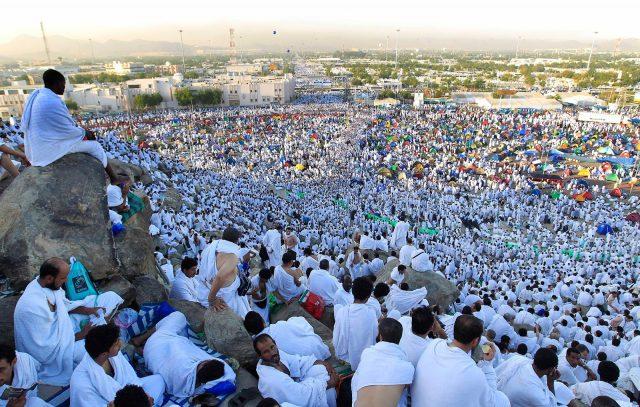 Jamaah Haji Melaksanakan Wukuf Di Arafah Fotoistimewa